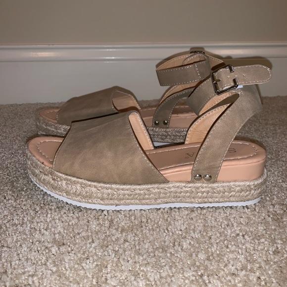 Soda Shoes   Platform Sandals   Poshmark